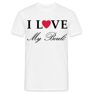 homme i love my bouli - T-shirt Homme