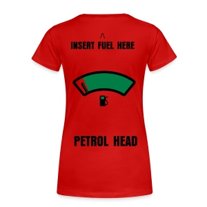 Petrol Head Tee - Women's Premium T-Shirt