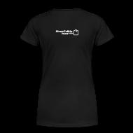 T-Shirts ~ Women's Premium T-Shirt ~ WOMENS SIMPLE: You can't be a pirate if you haven't got a beard.