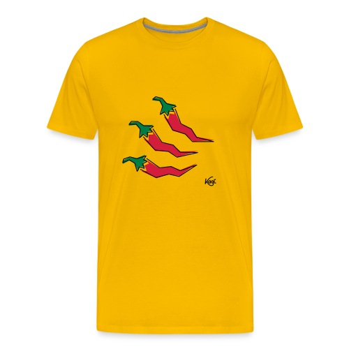 Pepperonis - Männer Premium T-Shirt