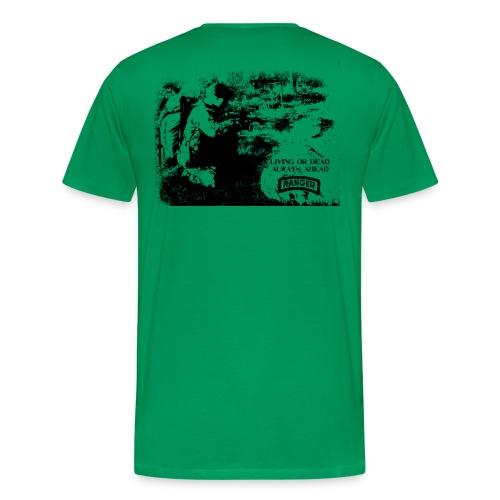 T-shirt Living or dead - Premium-T-shirt herr