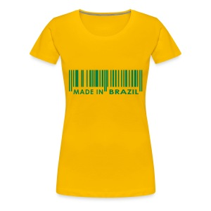 made in Brazil - Women's Premium T-Shirt