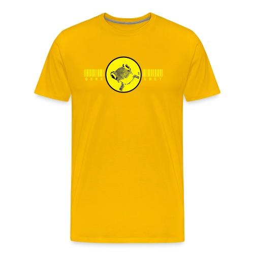barcode frog T - Männer Premium T-Shirt