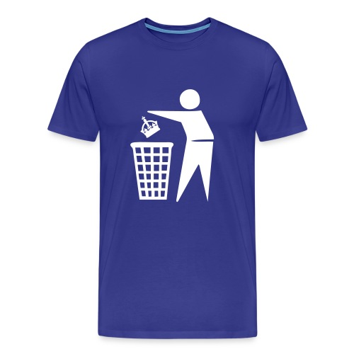 Bin the Monarchy - Men's Premium T-Shirt