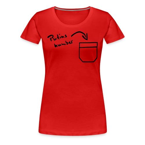 Call me - Premium T-skjorte for kvinner