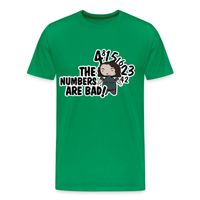 Camiseta LOST Hurley Bad numbers - chico manga corta