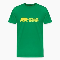 Bottlegreen Feed The Bear Men's T-Shirts