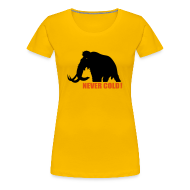 Tee shirts ~ T-shirt Premium Femme ~ never cold