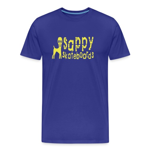 sappy original tee blue - Premium-T-shirt herr