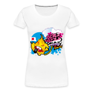 Tee shirts ~ T-shirt Premium Femme ~ Tshirt BBL Toys'powa (fille)