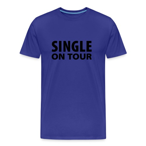 single - Premium-T-shirt herr