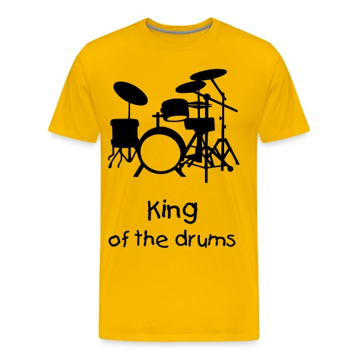 King of the Drums - Männer Premium T-Shirt