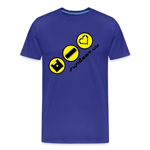 disc chip love (blue edition) - Men's Premium T-Shirt