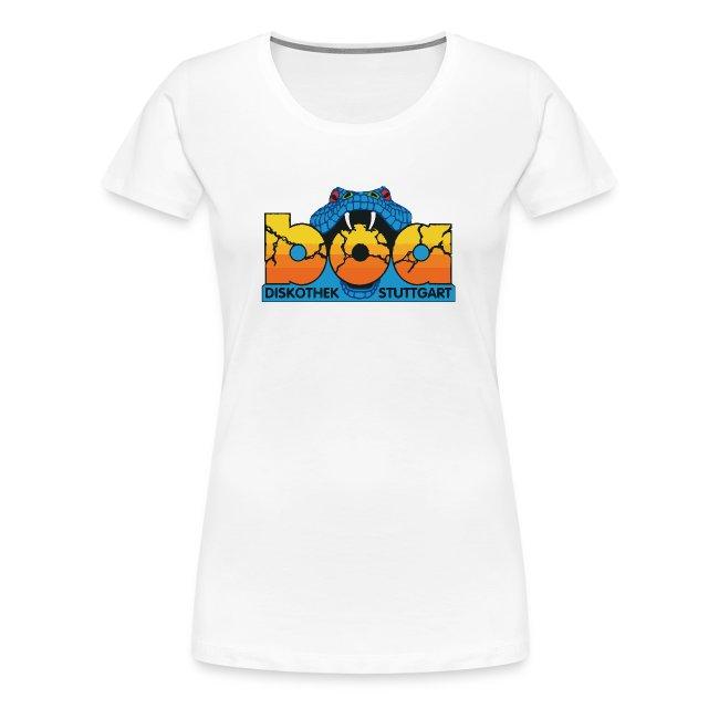 boa Shirt Kurzarm Damen