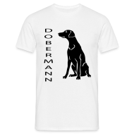 T-Shirts ~ Men's T-Shirt ~ Mens Doberman T-Shirt