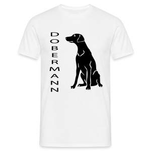 Mens Doberman T-Shirt - Men's T-Shirt