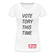 T-Shirts ~ Women's Premium T-Shirt ~ Vote Tory This Time