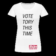 T-Shirts ~ Women's Premium T-Shirt ~ Vote Tory This Time