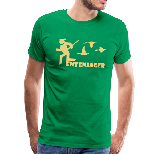 Jagd Shirt Entenjäger I *NEU* - Männer Premium T-Shirt