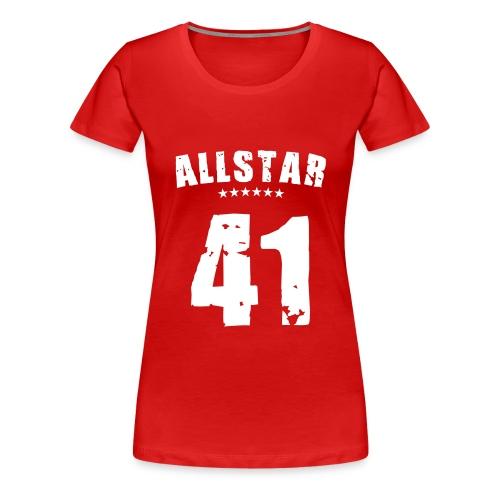 Allstar 41 (white) - Women's Premium T-Shirt