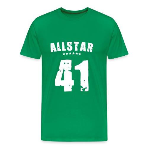 Allstar 41 (white) - Men's Premium T-Shirt