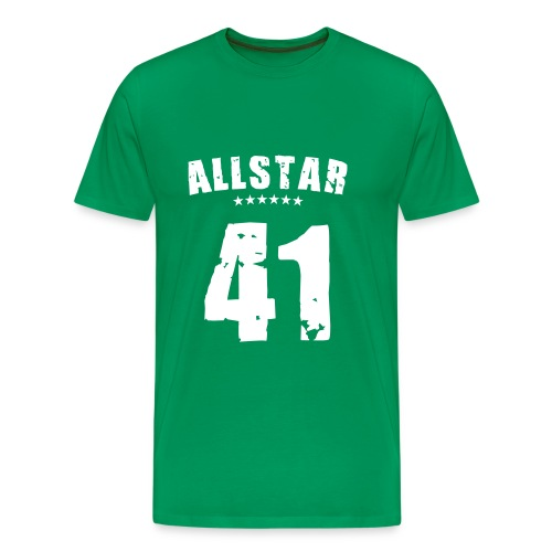 Allstar 41 (white) - Men's Premium T-Shirt