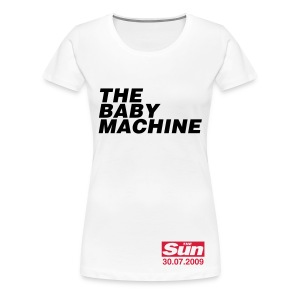 The Baby Machine - Women's Premium T-Shirt