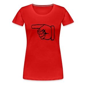 index - Premium T-skjorte for kvinner