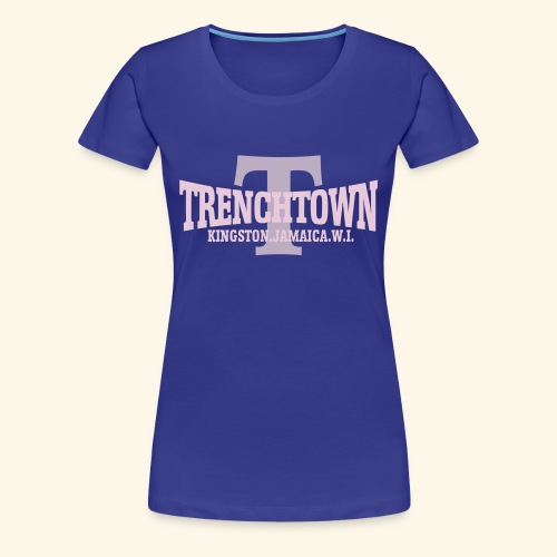 TRENCHTOWN ROSE & LILAS - T-shirt Premium Femme