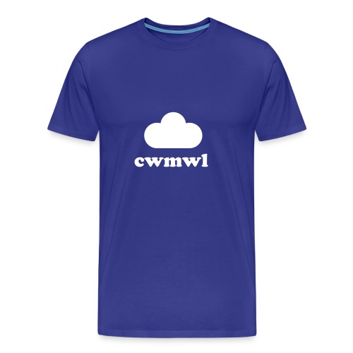 cwmwl - cryst - Men's Premium T-Shirt