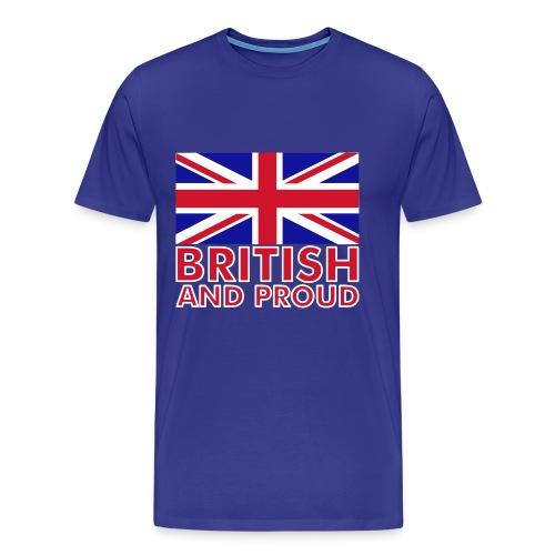 BRITISH c& PROUD - Men's Premium T-Shirt