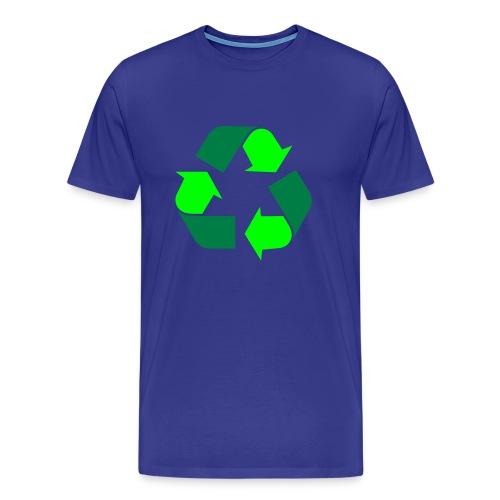 Recycle - Premium T-skjorte for menn