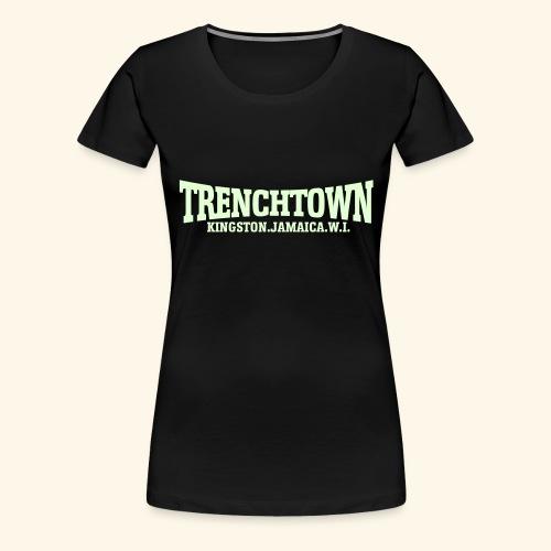TRENCHTOWN PHOSPHORESCENT - T-shirt Premium Femme