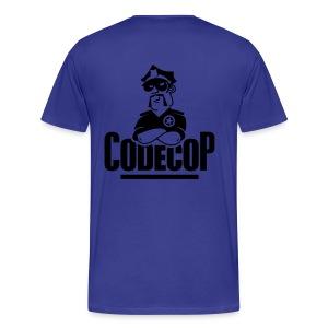 Code Cop, 'Reversed Blue Michael' - Men's Premium T-Shirt