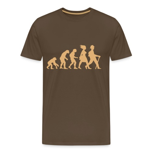 Hiking Evolution - Männer Premium T-Shirt