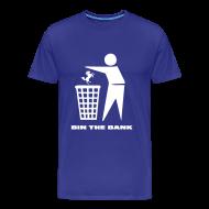 T-Shirts ~ Men's Premium T-Shirt ~ Bin The Bank