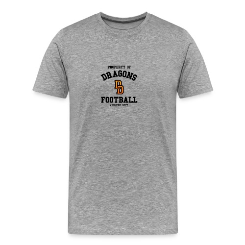 Delft Dragons Athletic Dept. - Mannen Premium T-shirt