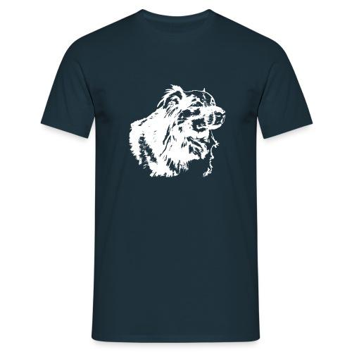 cat.Kontrastmotive.SpitzMischling - Männer T-Shirt