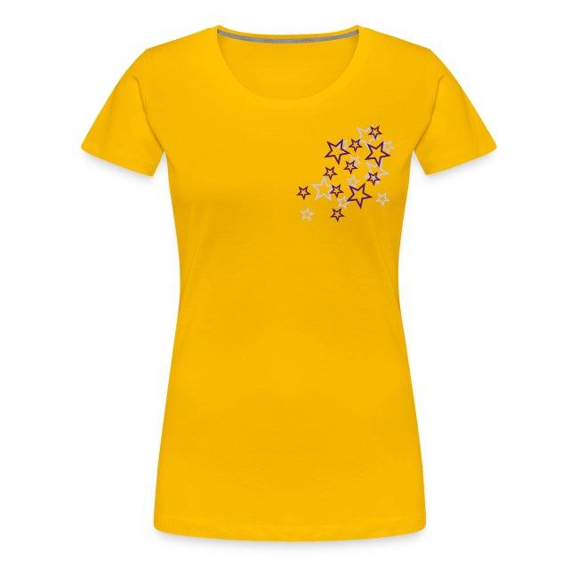T.skjorte med stjerner