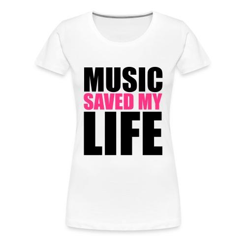 Meekyz--MSML - T-shirt Premium Femme