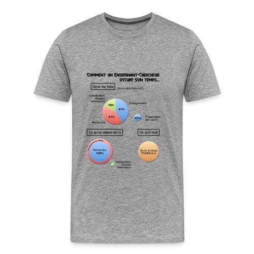 Enseignant-chercheur - T-shirt Premium Homme
