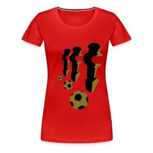 WK- shirt girl - Vrouwen Premium T-shirt