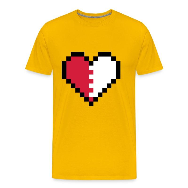 Broken Pixels: Broken Pixel Heart T-Shirt