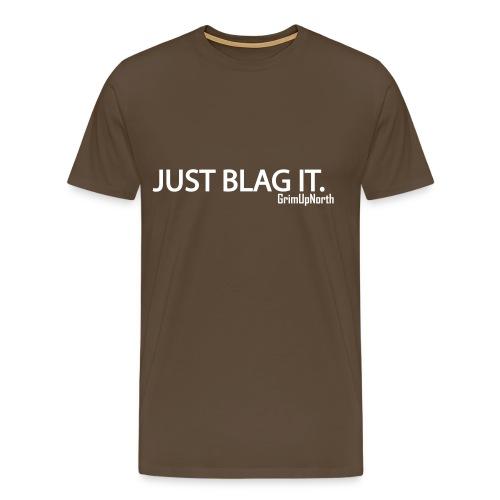Just Blag It - Grim - Men's Premium T-Shirt