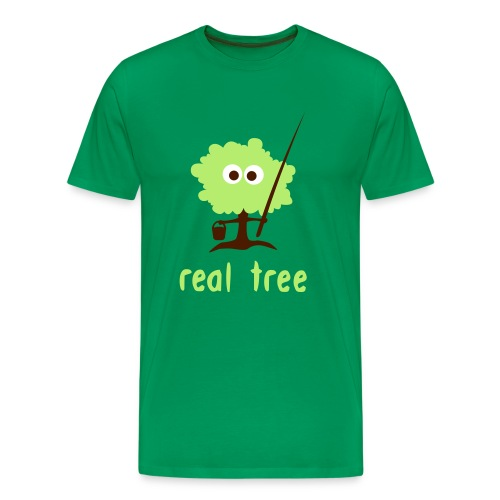 Real Tree - Men's Premium T-Shirt