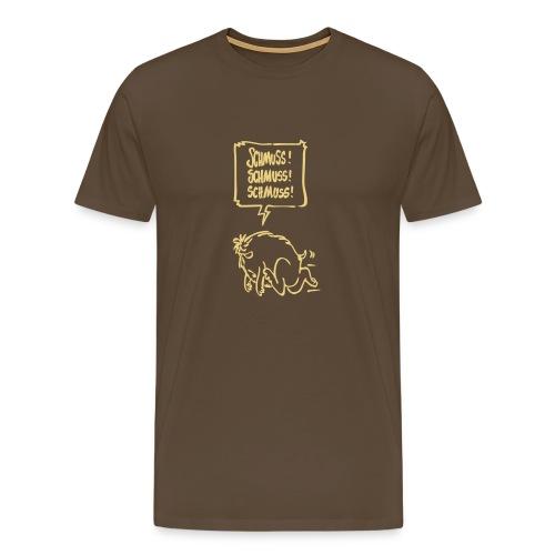 Schmuss! Männer dunkel - Männer Premium T-Shirt