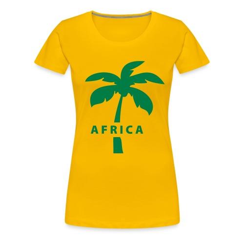 Frauenshirt Africa, Basic - Frauen Premium T-Shirt