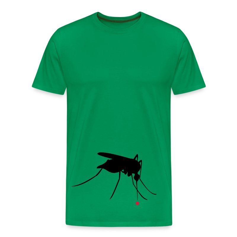 Mosquito and blood - Men's Premium T-Shirt