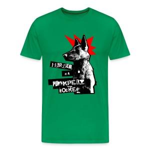 Herder - grün Shirt - Männer Premium T-Shirt