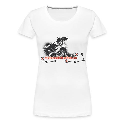 Motorradstrecken.eu Frauen T-Shirt - Frauen Premium T-Shirt